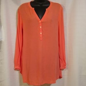 Old Navy The Tunic Top Peachy Pink Sz Small
